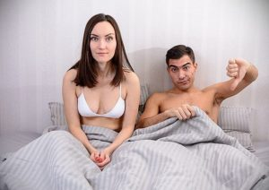 symptome erection molle